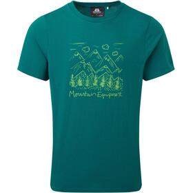 Mountain Equipment Vista T-shirt Homme, Bleu pétrole